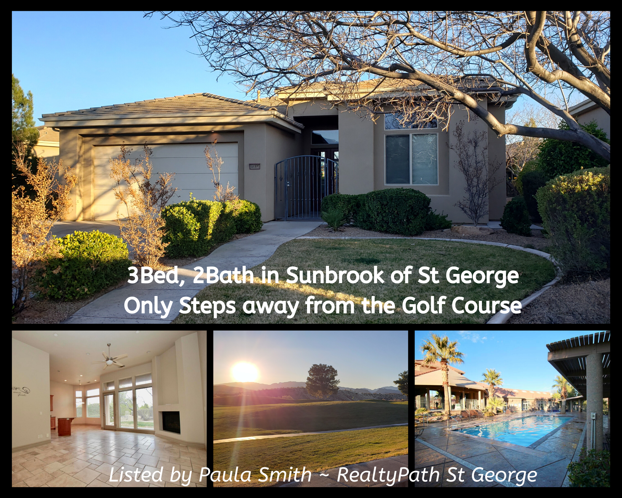 SunBrook Home For Sale St George
