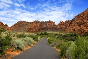 Enjoy St. George trails and paths