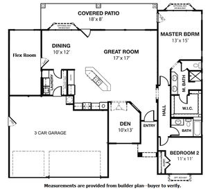 Aspirations Floor Plan SunRiver