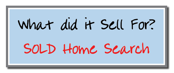 Sold Home Search