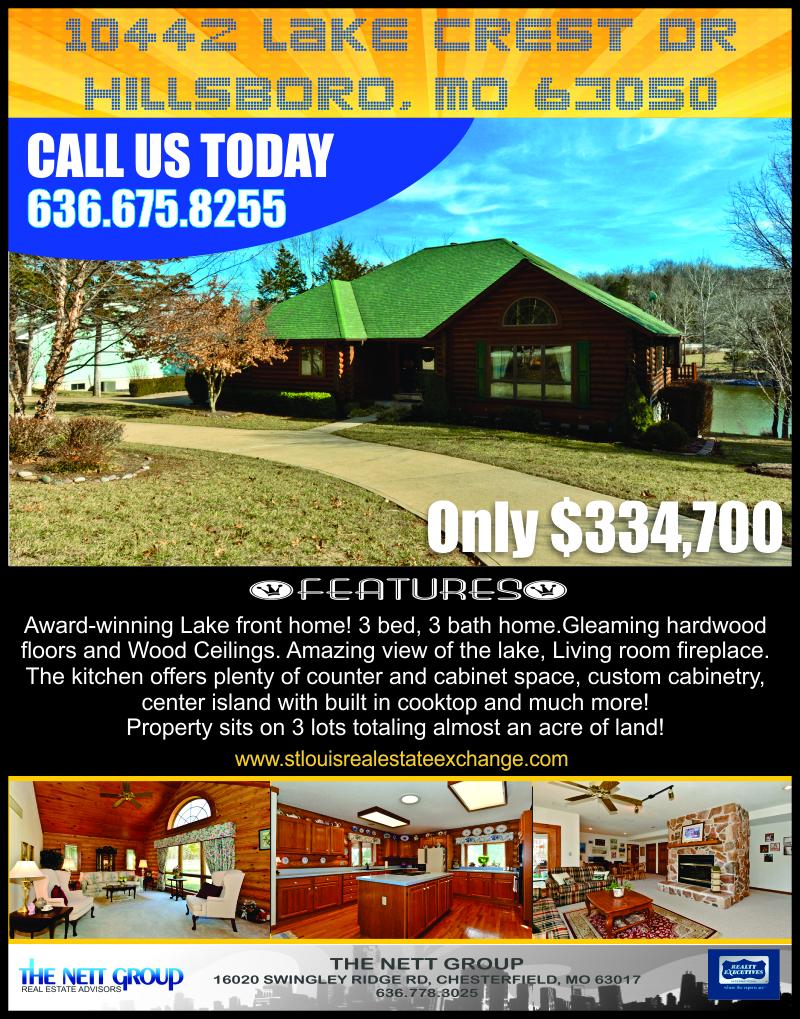 10442 Lake Crest Dr, Hillsboro, MO 63050