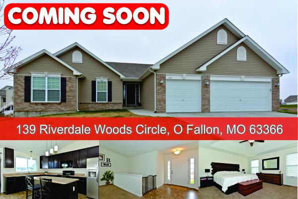 Coming Soon! 139 Riverdale Woods Circle, O Fallon, MO 63366 | The Nett Group