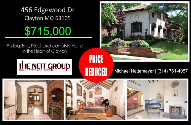 Price Reduction | 456 Edgewood Dr, Clayton MO 63105