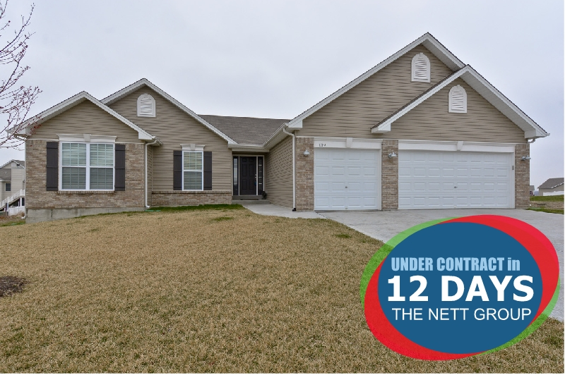 UNDER CONTRACT IN 12 DAYS WITH THE NETT GROUP!
