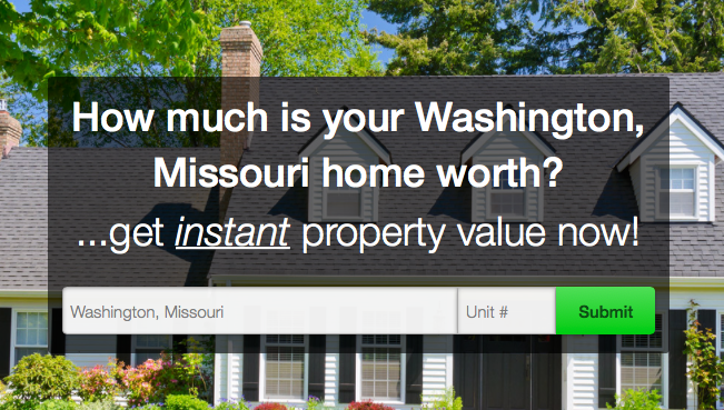 Washington Home Value