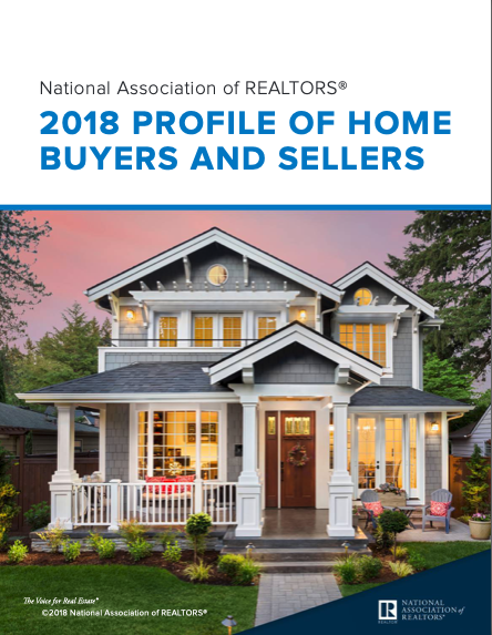 NAR 2018 Profile of Home Buyers and Sellers