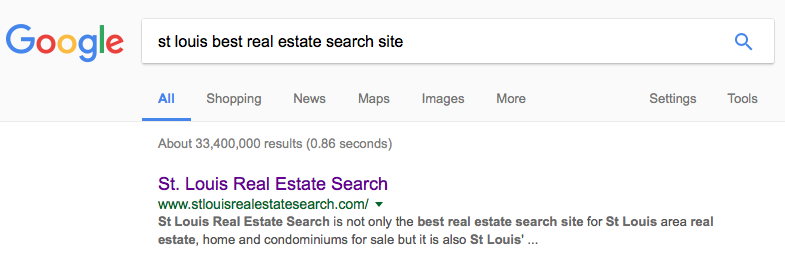 St Louis Best Real Estate Search Site - St Louis Realtor