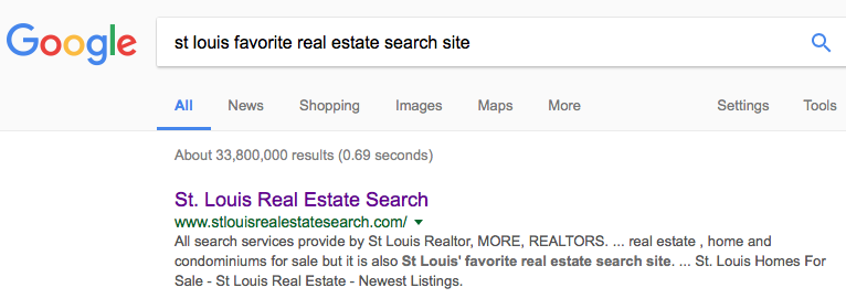 St Louis Favorite Real Estate Search Site - St Louis REALTOR
