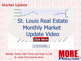 st louis metro area real estate data