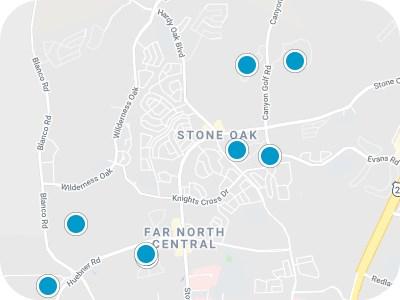 Stone Oak Real Estate Map Search