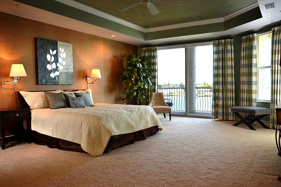 Master Bedroom Well Staged and Elegant
