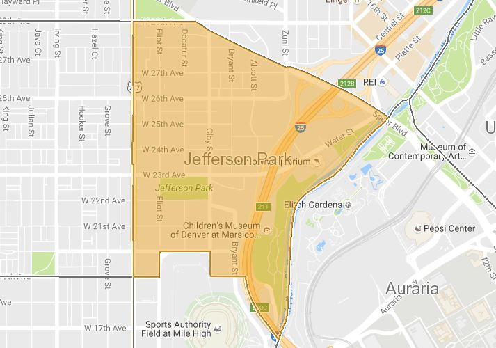 Jefferson Park Map Search