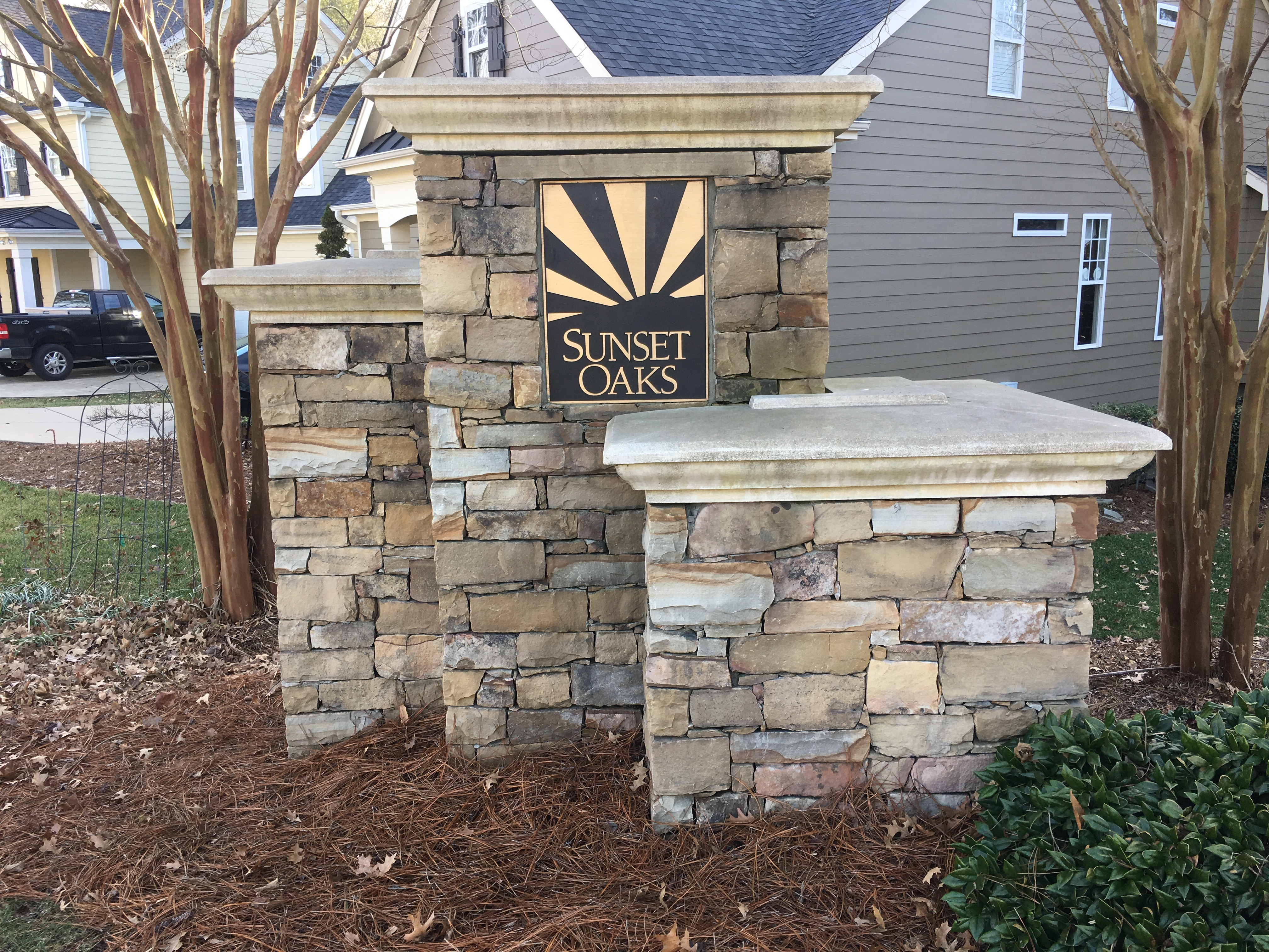 Sunset Oaks Subdivision Holly Springs