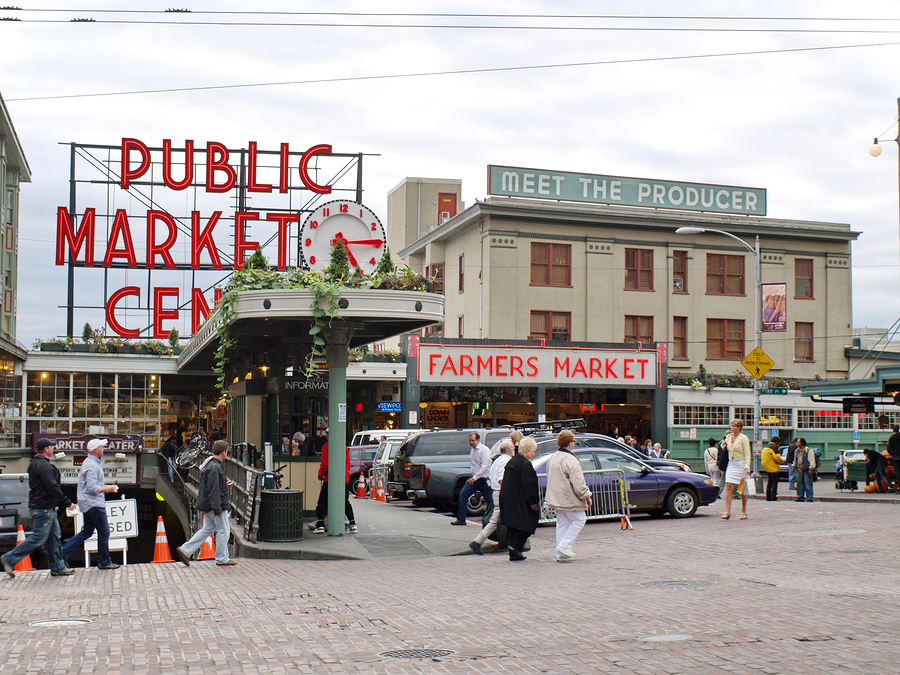Shop at Pike Place Market for your Seattle home