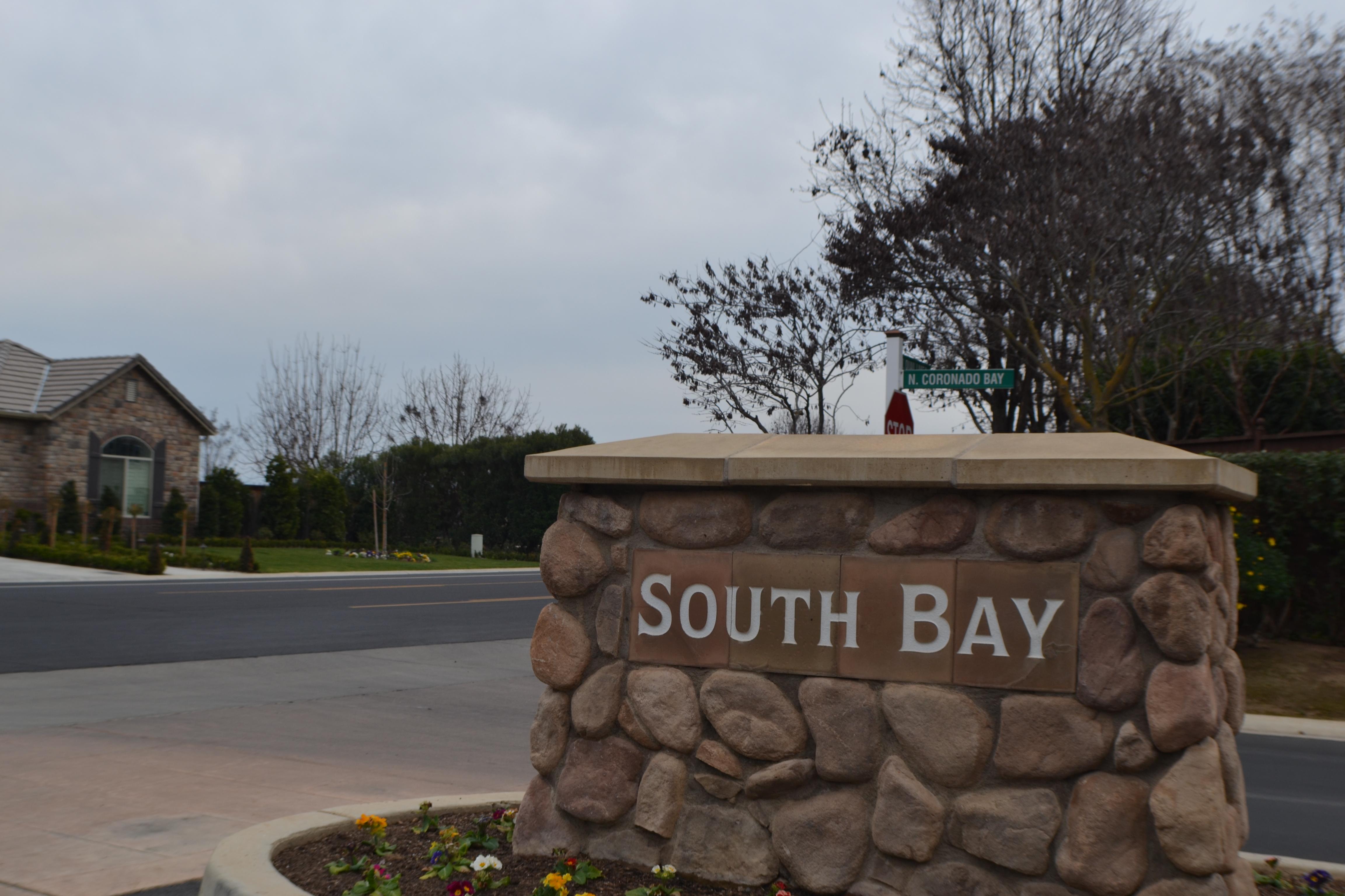 Quail Lake Southbay Sign
