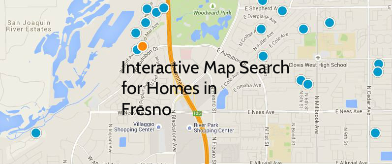 Fresno Interactive Search Map