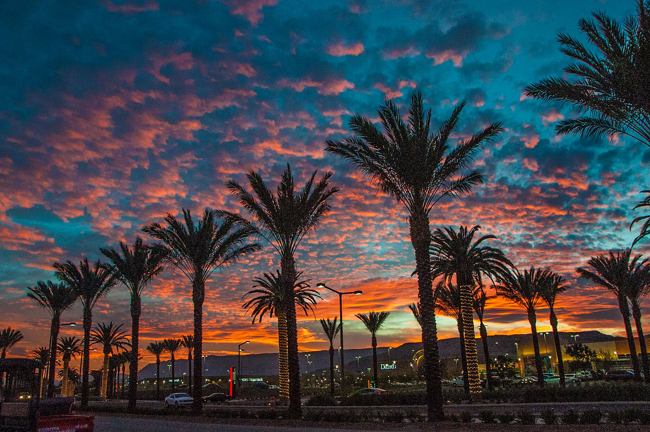 Downtown Summerlin Sunset