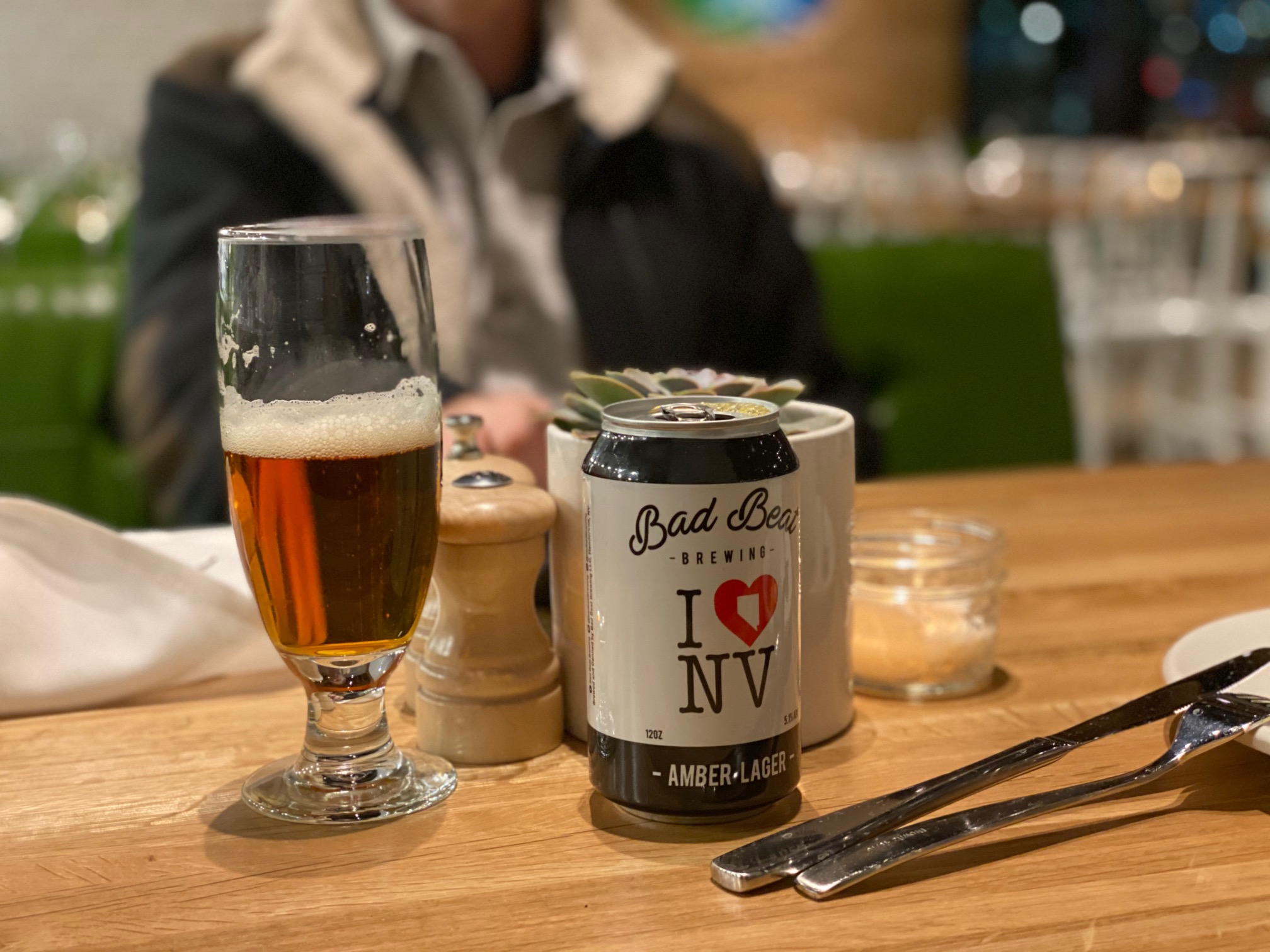 True Food Summerlin Beer