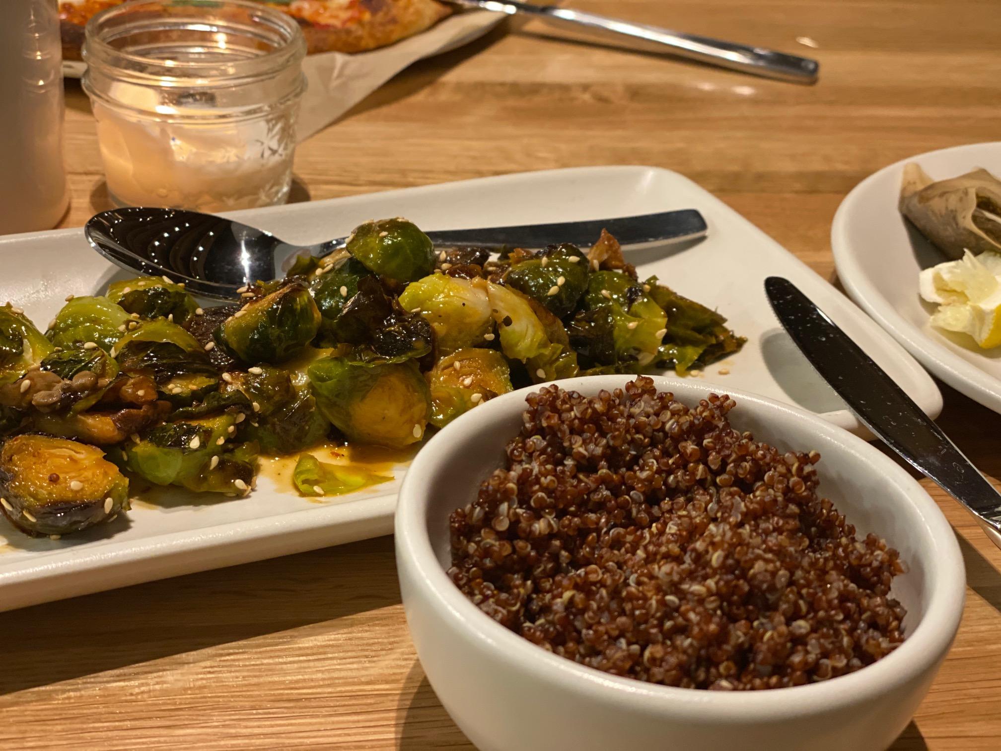 True Food Summerlin Brussel Sprouts