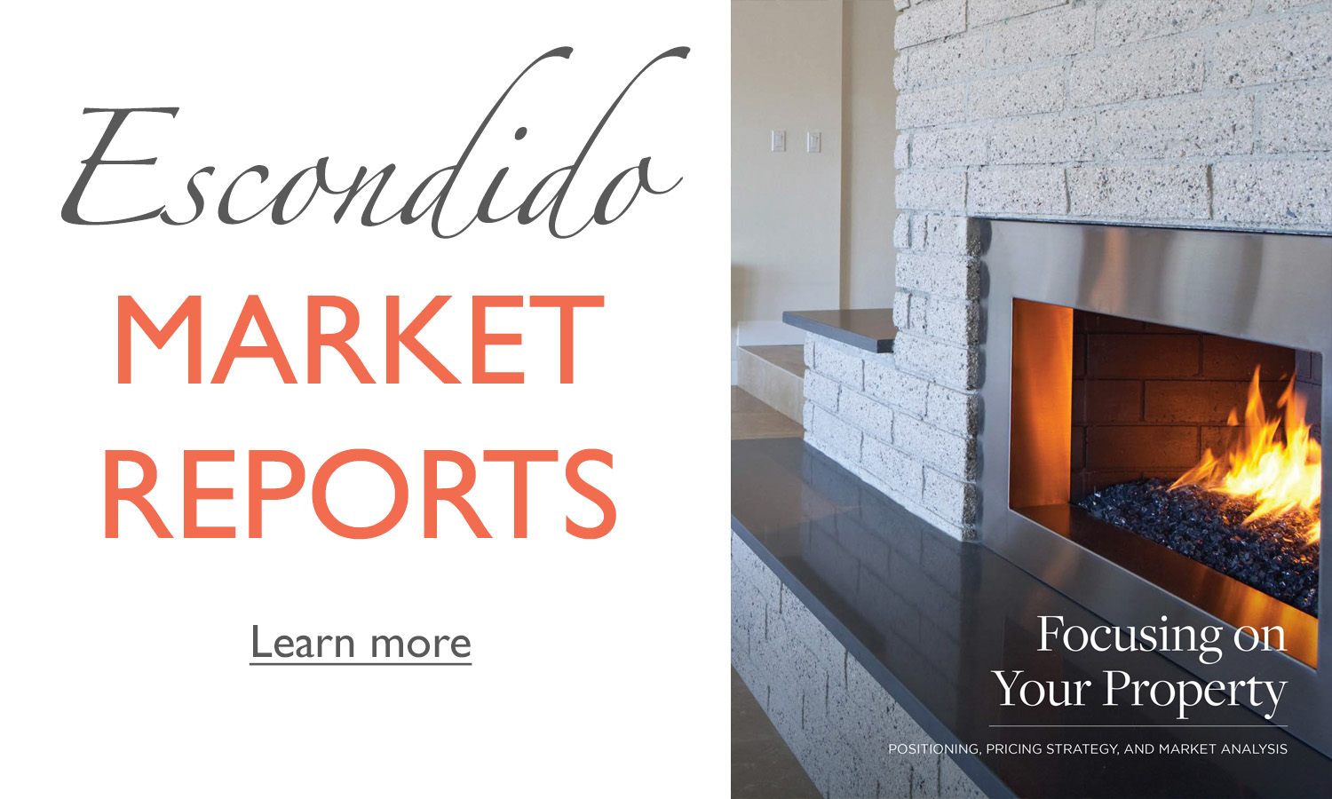 How's the real estate market in Escondido? Find out right here!