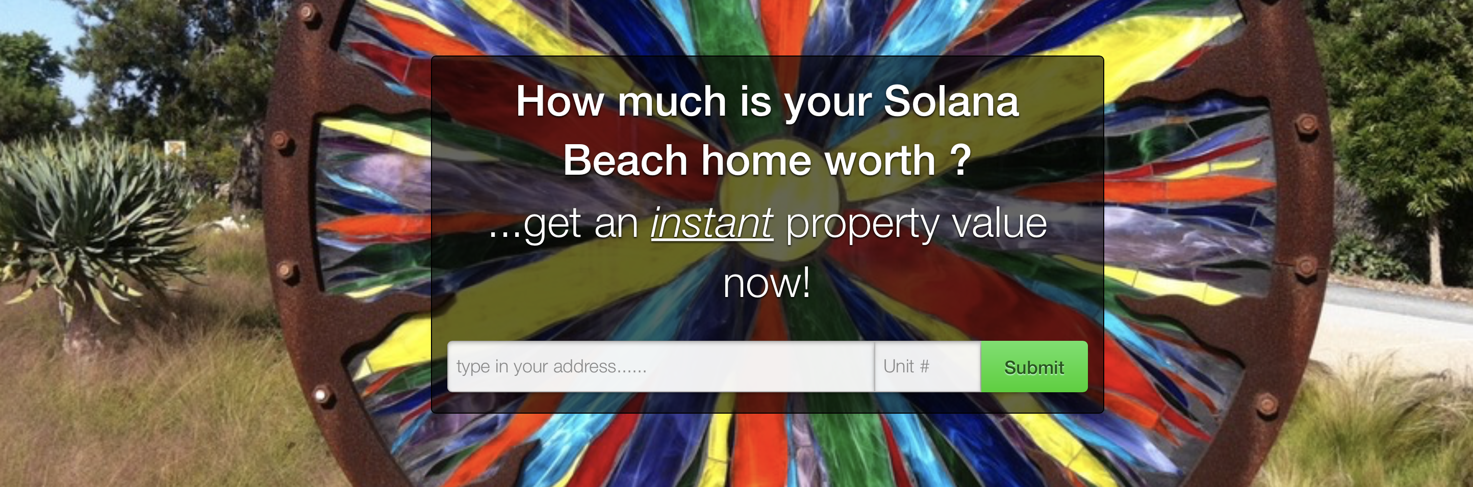 New tool for sellers! What is my home worth in Solana Beach?