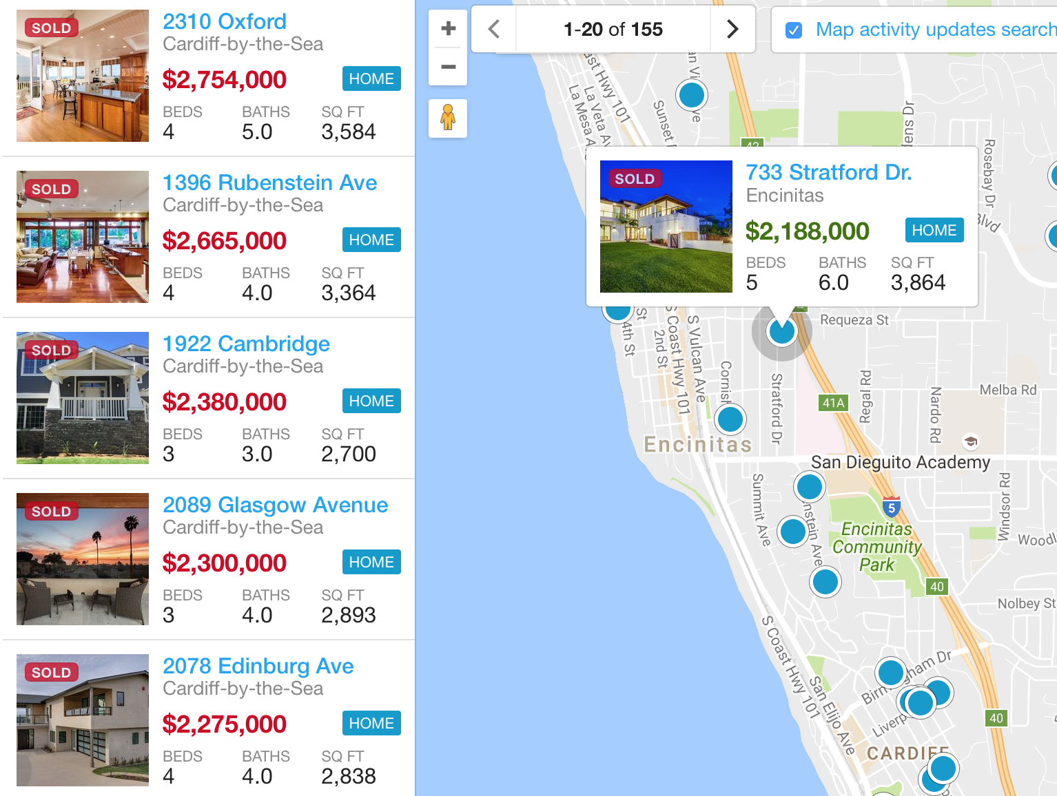 See JUST SOLD ENCINITAS LISTINGS past 4 months
