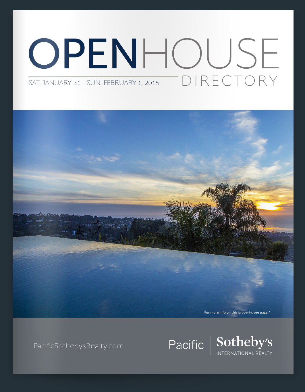 Pacific Sotheby's Interantional Realty Open Houses Jan 31 & Feb 1st