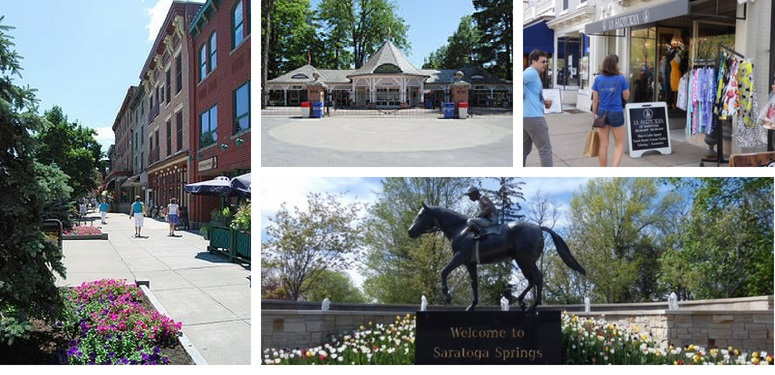 Saratoga Homes Collage
