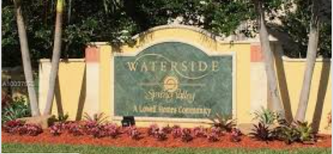 Waterside at Spring Valley Pembroke Pines Homes For Sale