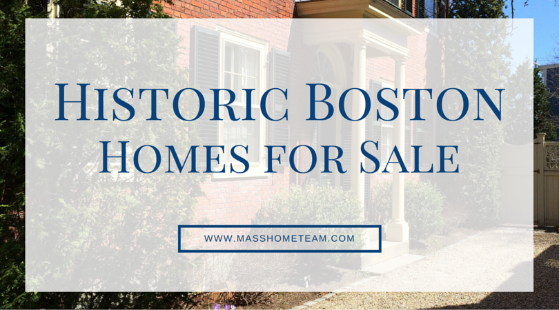 Search Historic Boston Homes - Masshometeam