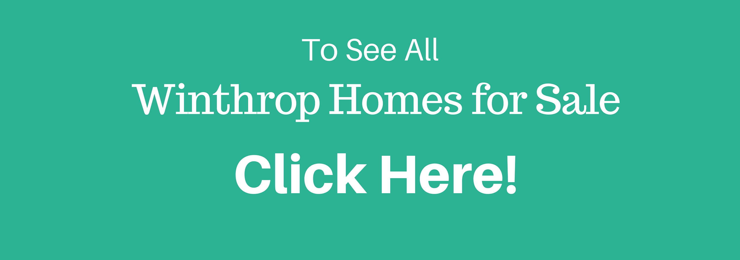 Homes for Sale in Winthrop MA