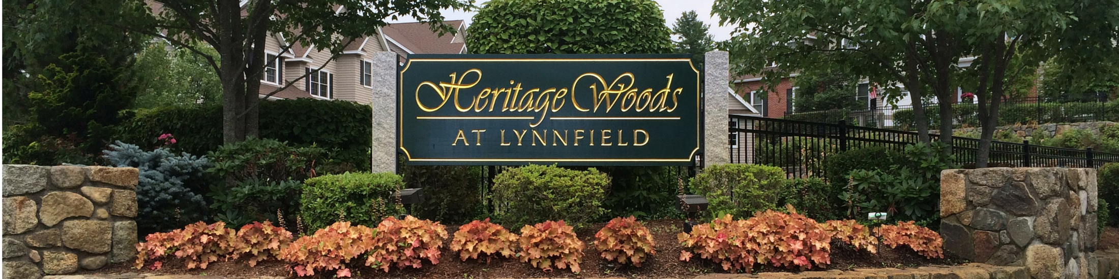 Entrance to Heritage Woods Lynnfield Ma.