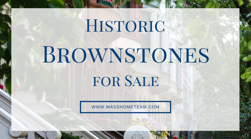 Brownstones for Sale in Boston Massachusetts