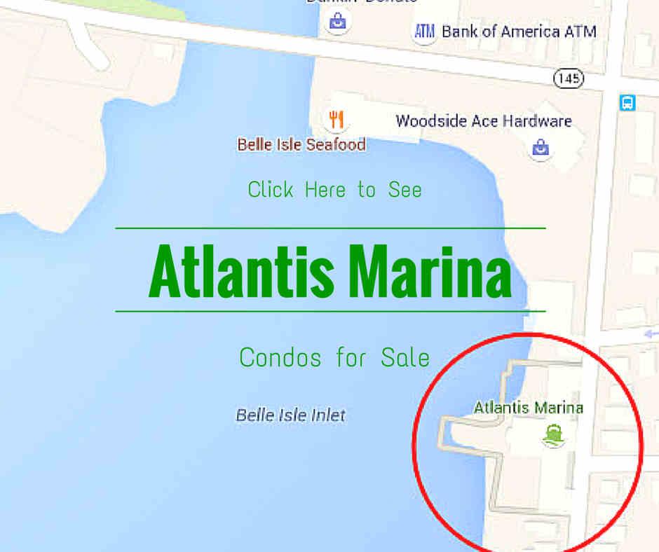 Atlantis Marina map courtesy of Google Maps