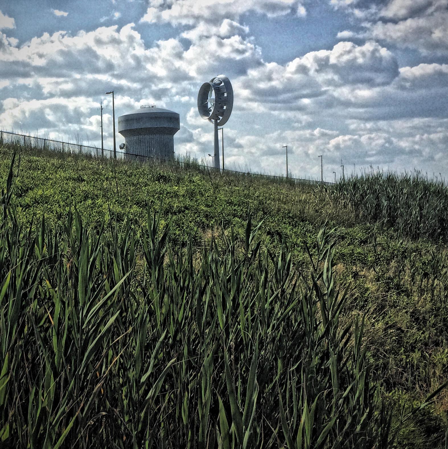Turbine on Deer Island