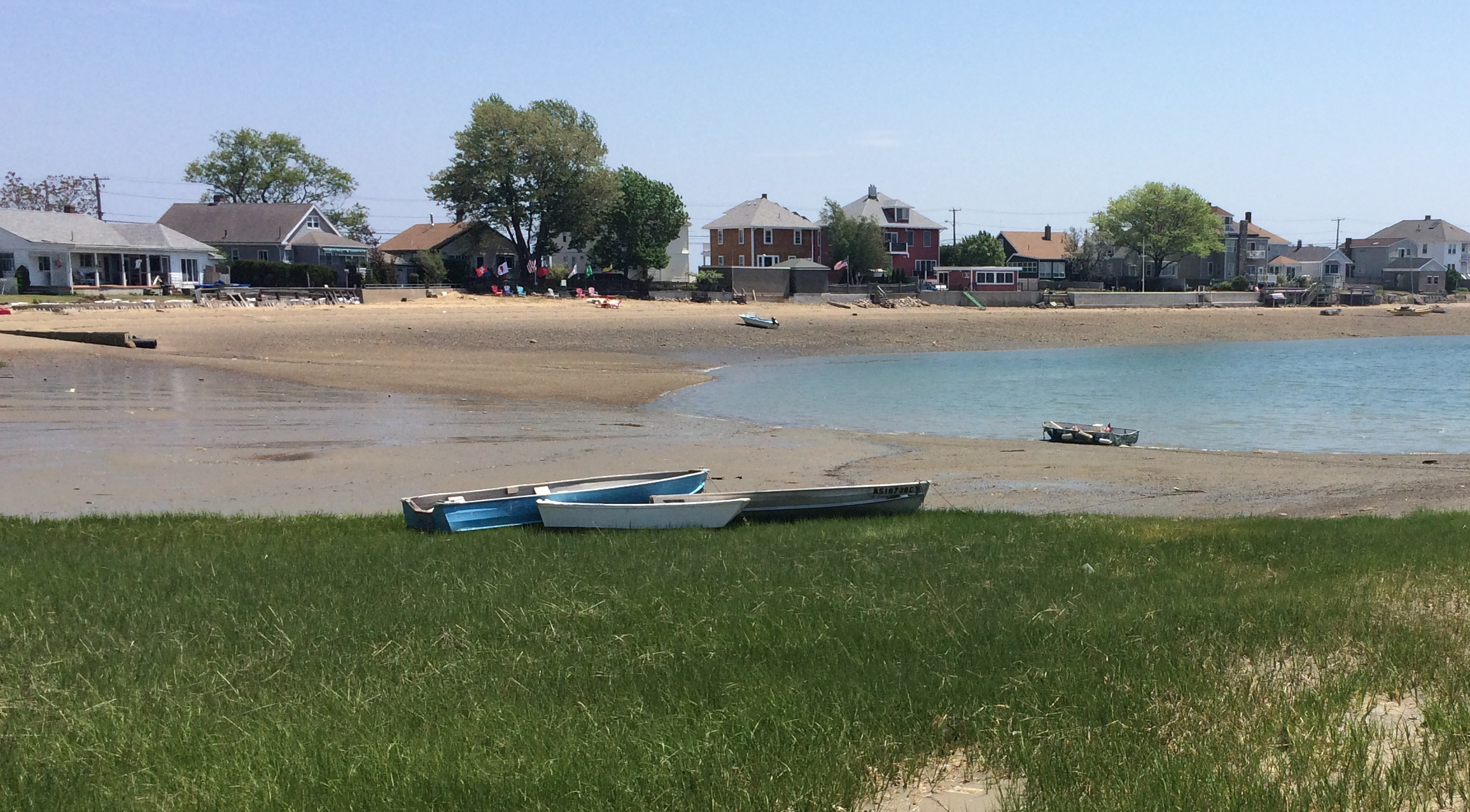 Harbor view in Marblehead MA