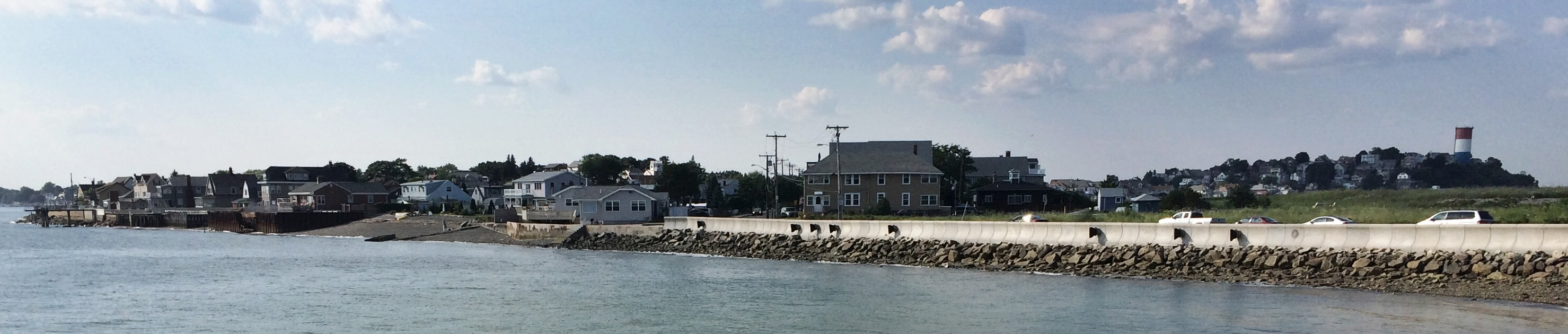 Point Shirley and Water Tower Hill from Deer Island