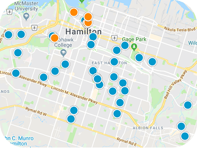 Southern Ontario Real Estate Map Search