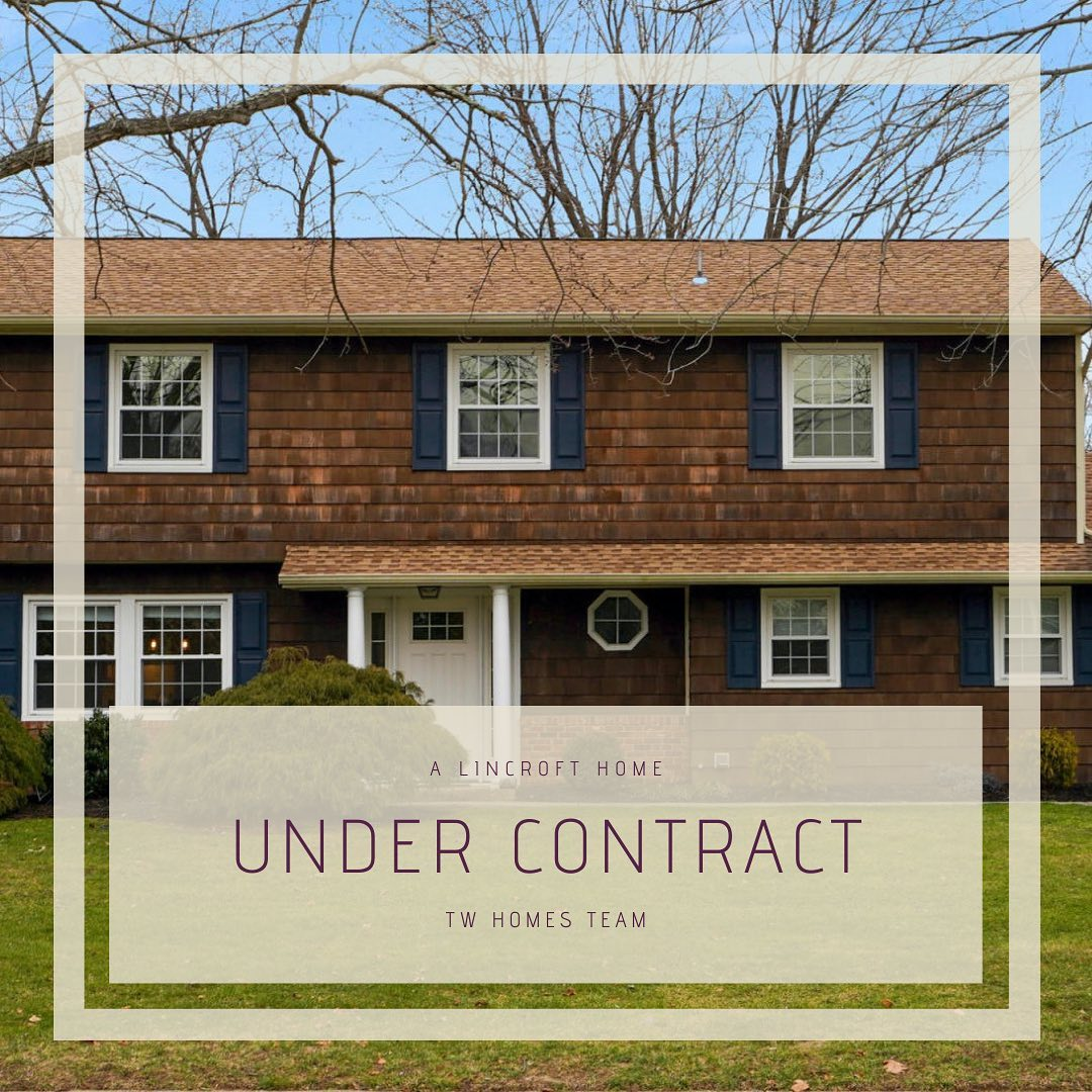 Under contract in Lincroft, NJ!