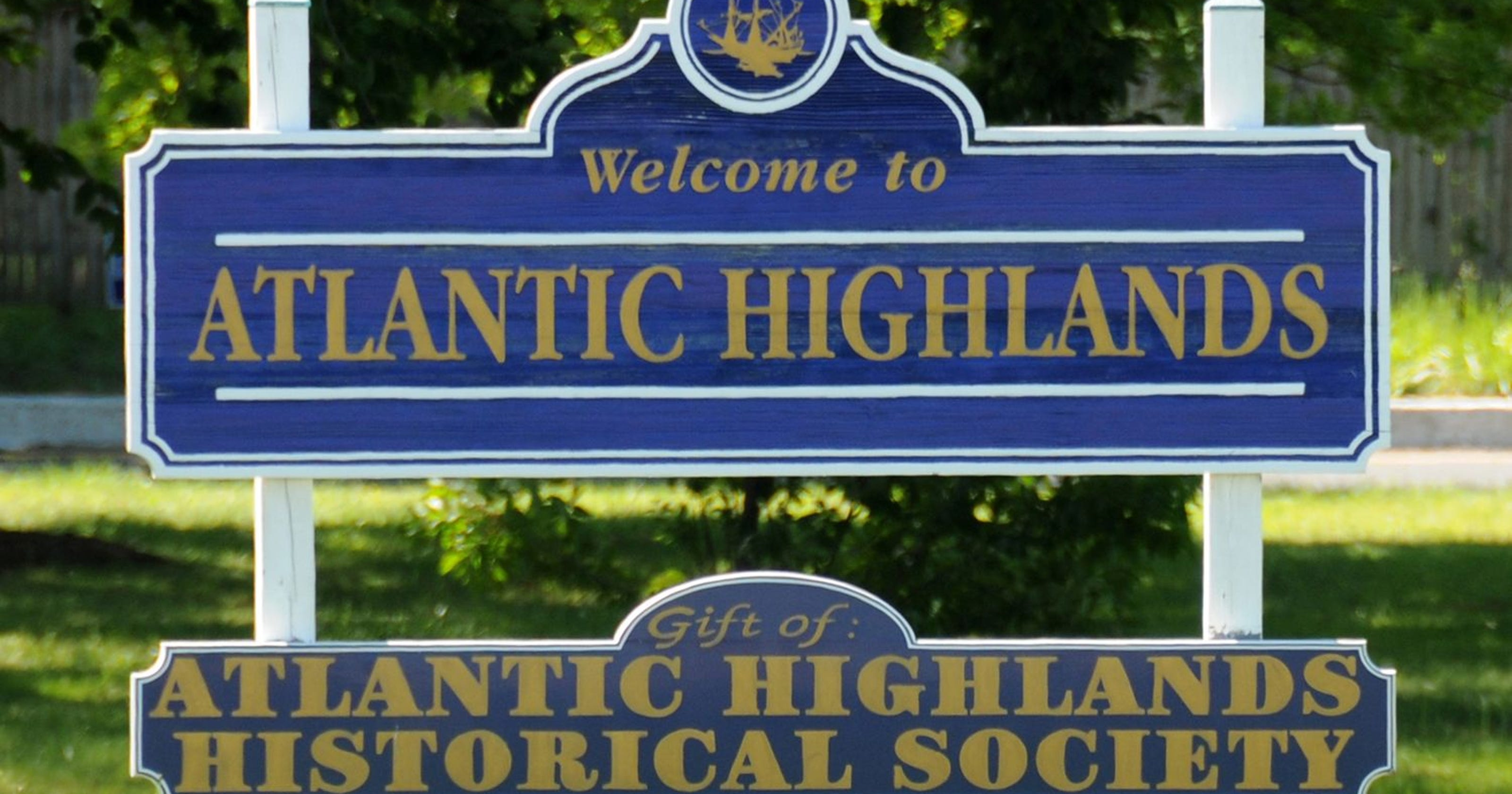 Atlantic Highlands Sign