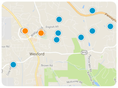 North Pittsburgh Real Estate Map Search