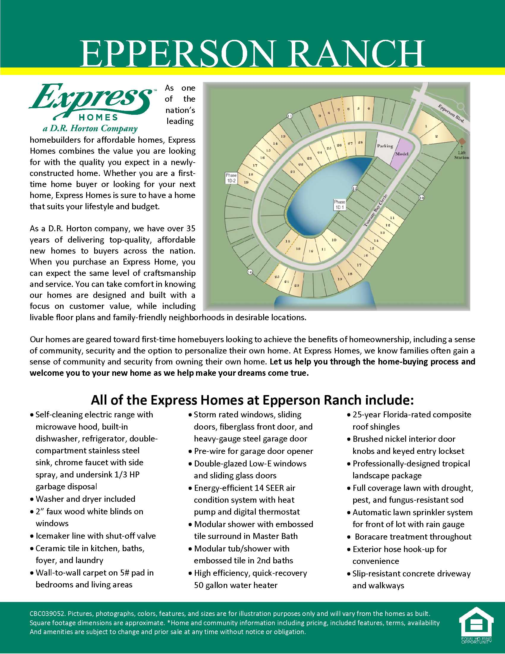 Epperson ranch express homes for Epperson ranch homes