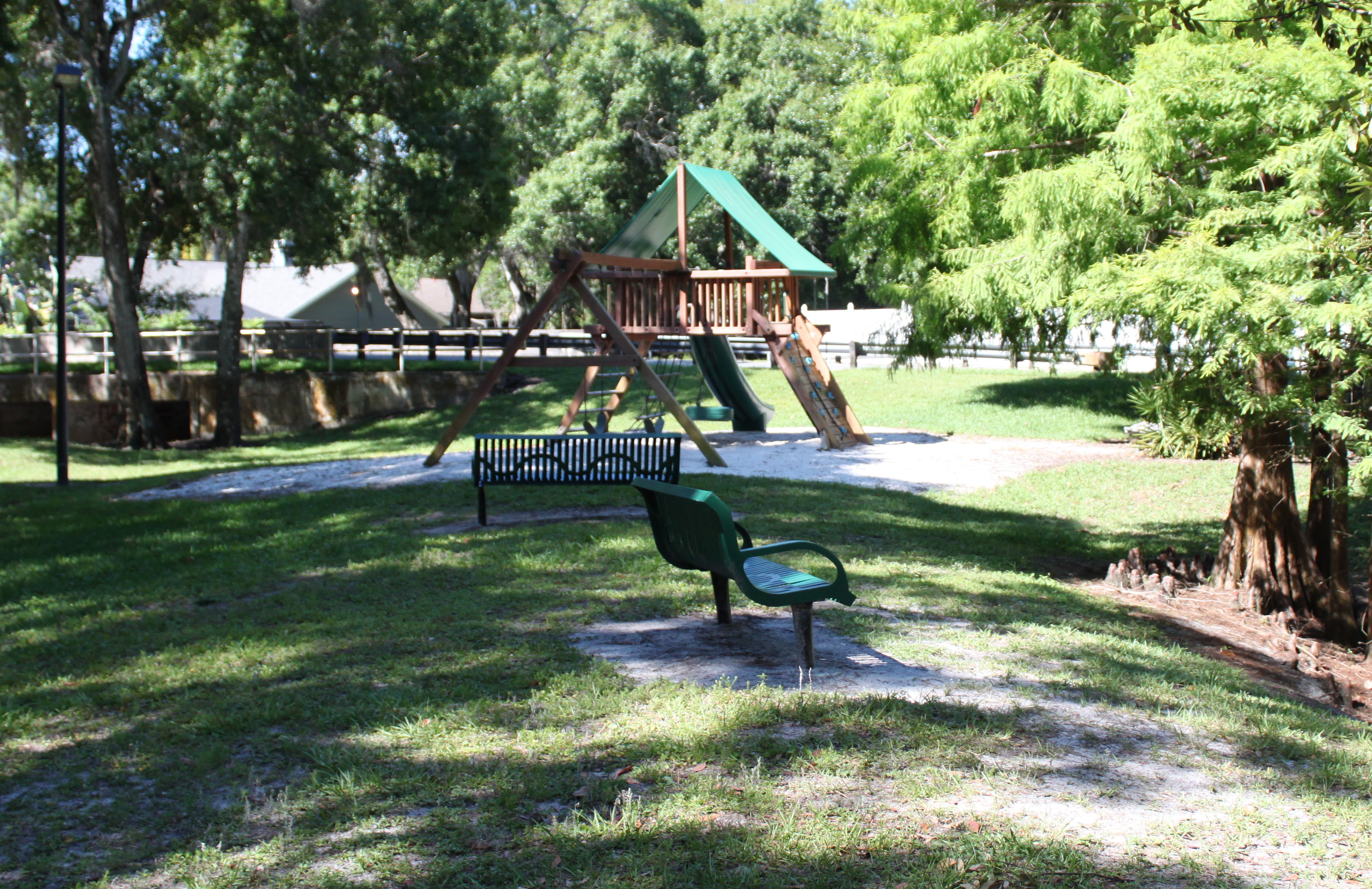 Cumberland manors playground benches