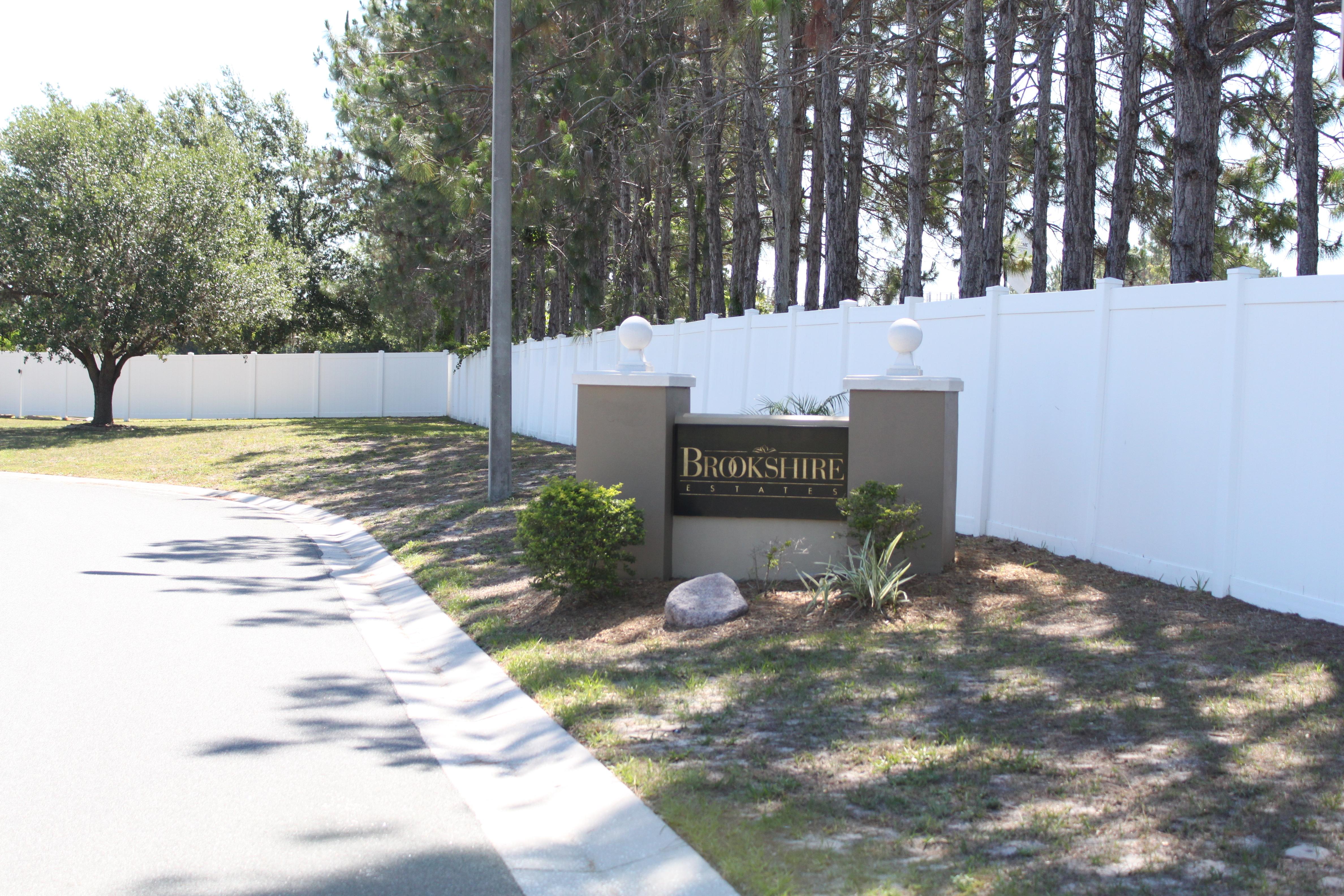 Eastbrook community subdivision, Brookshire Estates