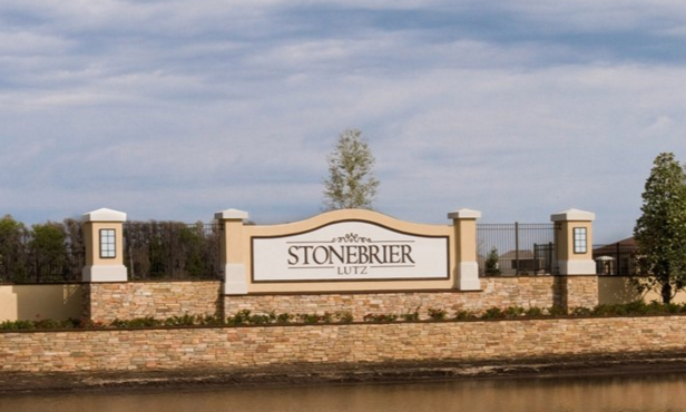 stonebrier entry sign
