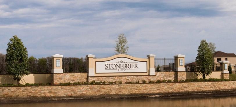 stonebrier community entrance