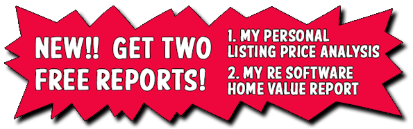 What's My Home Worth?  Free listing price report, home value.