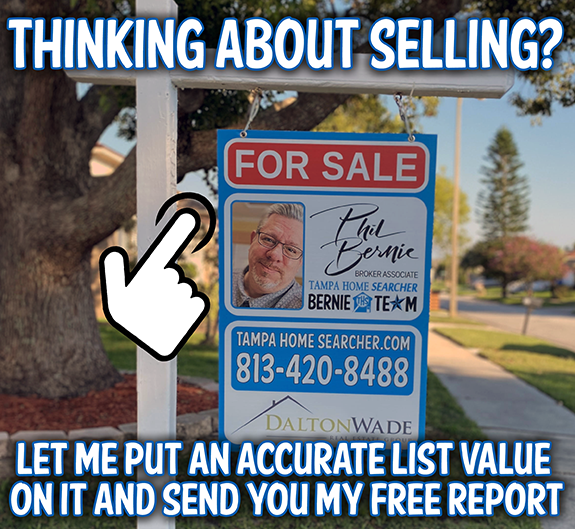 How much should I sell my home for?  List my home for sale in Tampa.  Tampa listing agent.