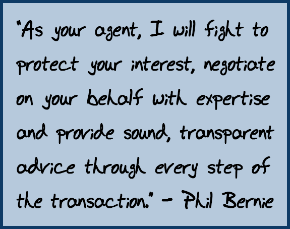 Phil Bernie's Real Estate Agent Pledge To Clients