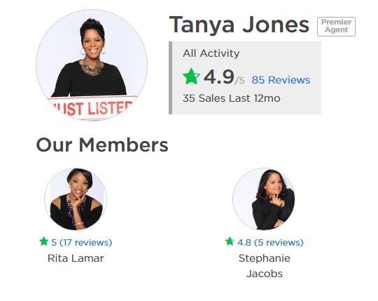 Tanya Jones Zillow Agent